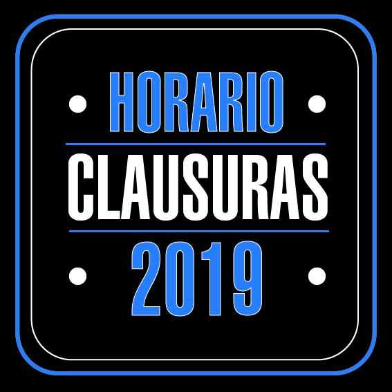 CLAUSURAS 2019